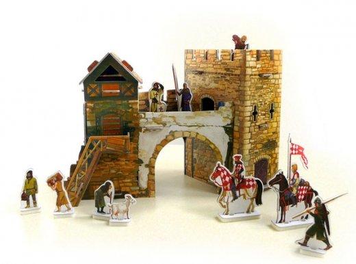 Сборная модель Старые ворота