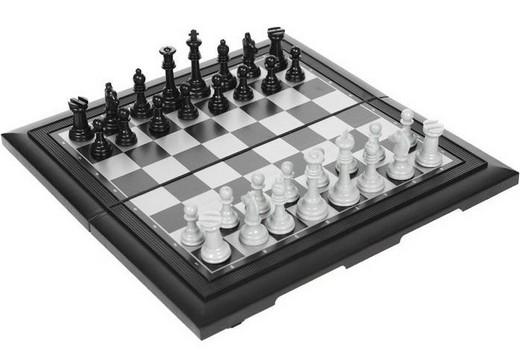 Набор настольных игры 3 в 1: шахматы, шашки, нарды