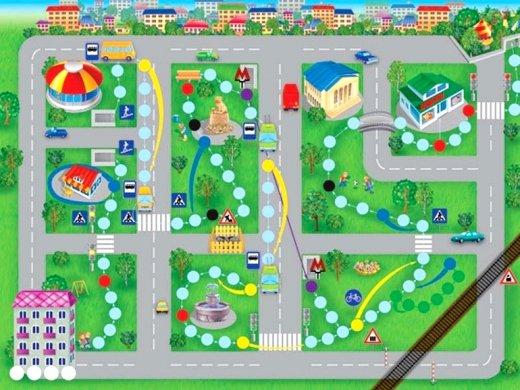 Карта своими руками в саду 986