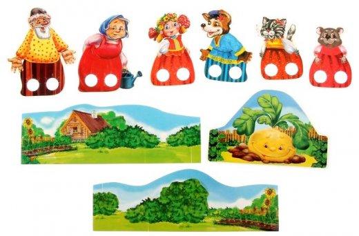 Бумажный кукольный театр своими руками