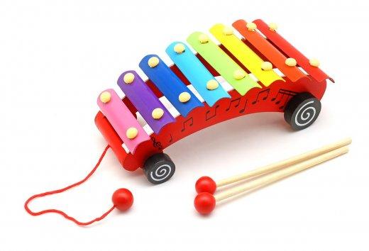 Обучающая музыкальная игрушка Металлофон
