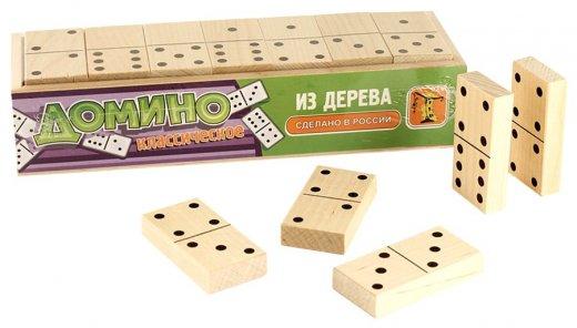 Обучающая настольная игра Домино